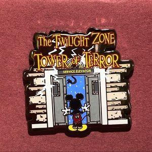Twilight Zone Tower of Terror Disney pin